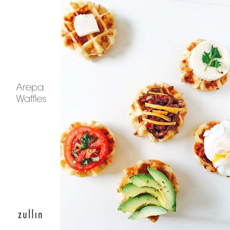 Arepa waffles