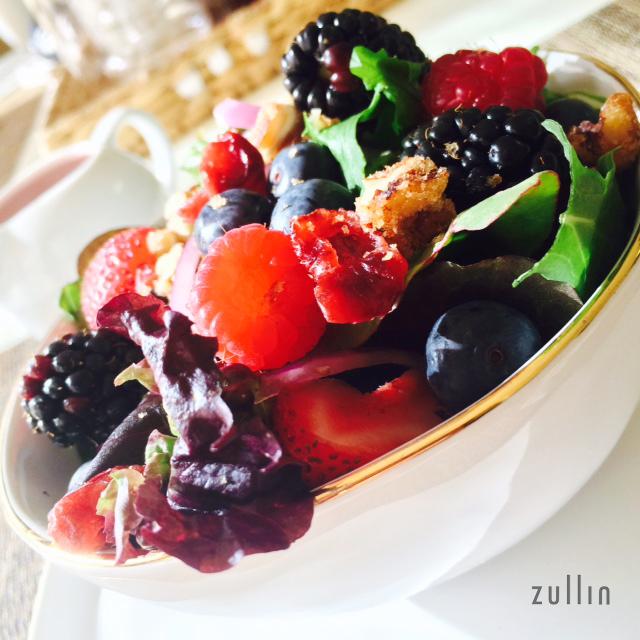 Closeup salad