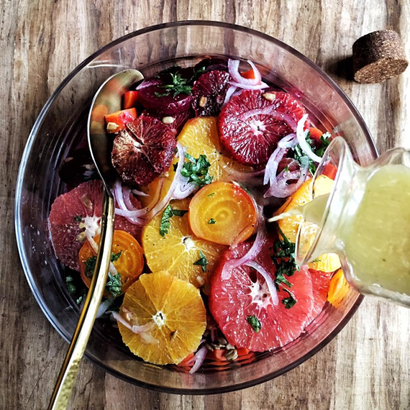 Blood orange beet salad1