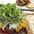 Grilled veggies sandwich