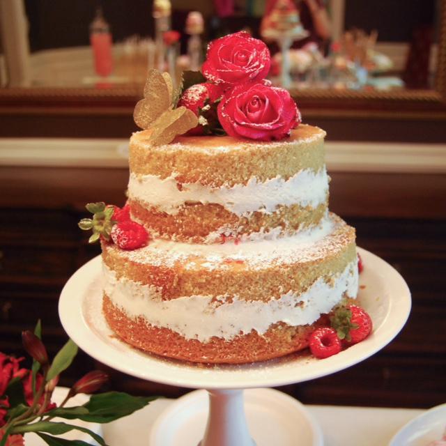 cake closeup candelabra